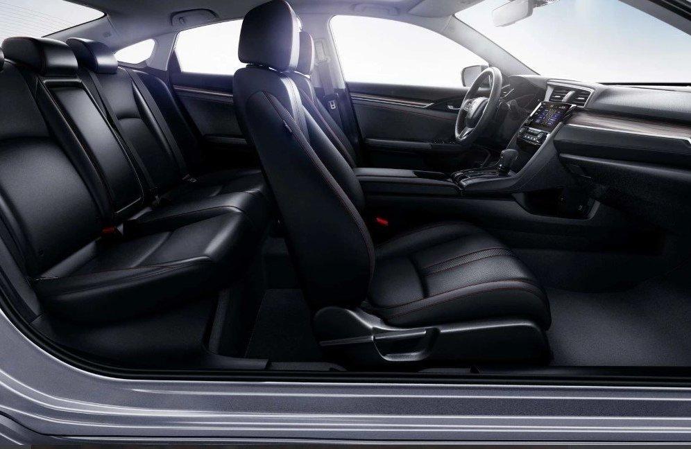 Ghế ngồi của Honda Civic 2019.
