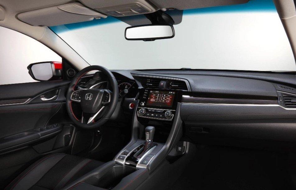 Khoang cabin của Honda Civic 2019.