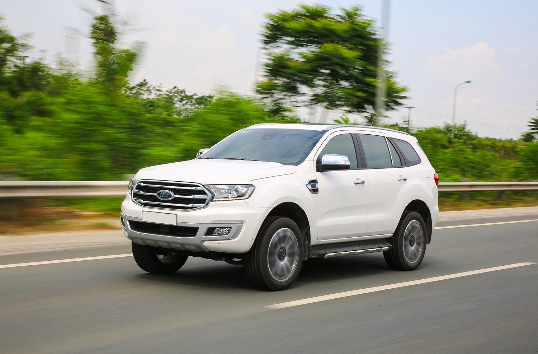 Khả năng vận hành của Ford Everest 2019.