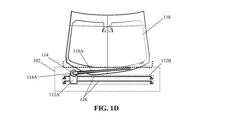 Tesla nộp bằng sáng chế cần gạt nước thông minh.