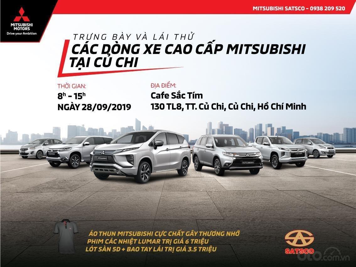 Mitsubishi Satsco triển khai chương trình trải nghiệm các dòng xe cao cấp tại Củ Chi a1
