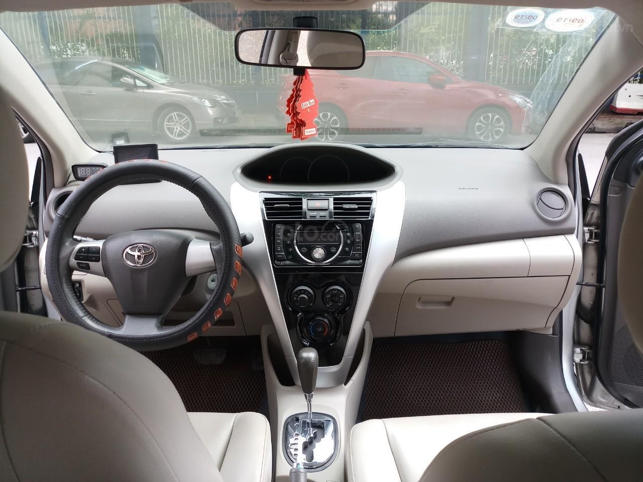 Ô tô Thủ Đô bán Toyota Vios 1.5G AT SX 2011, màu bạc 359 triệu (6)