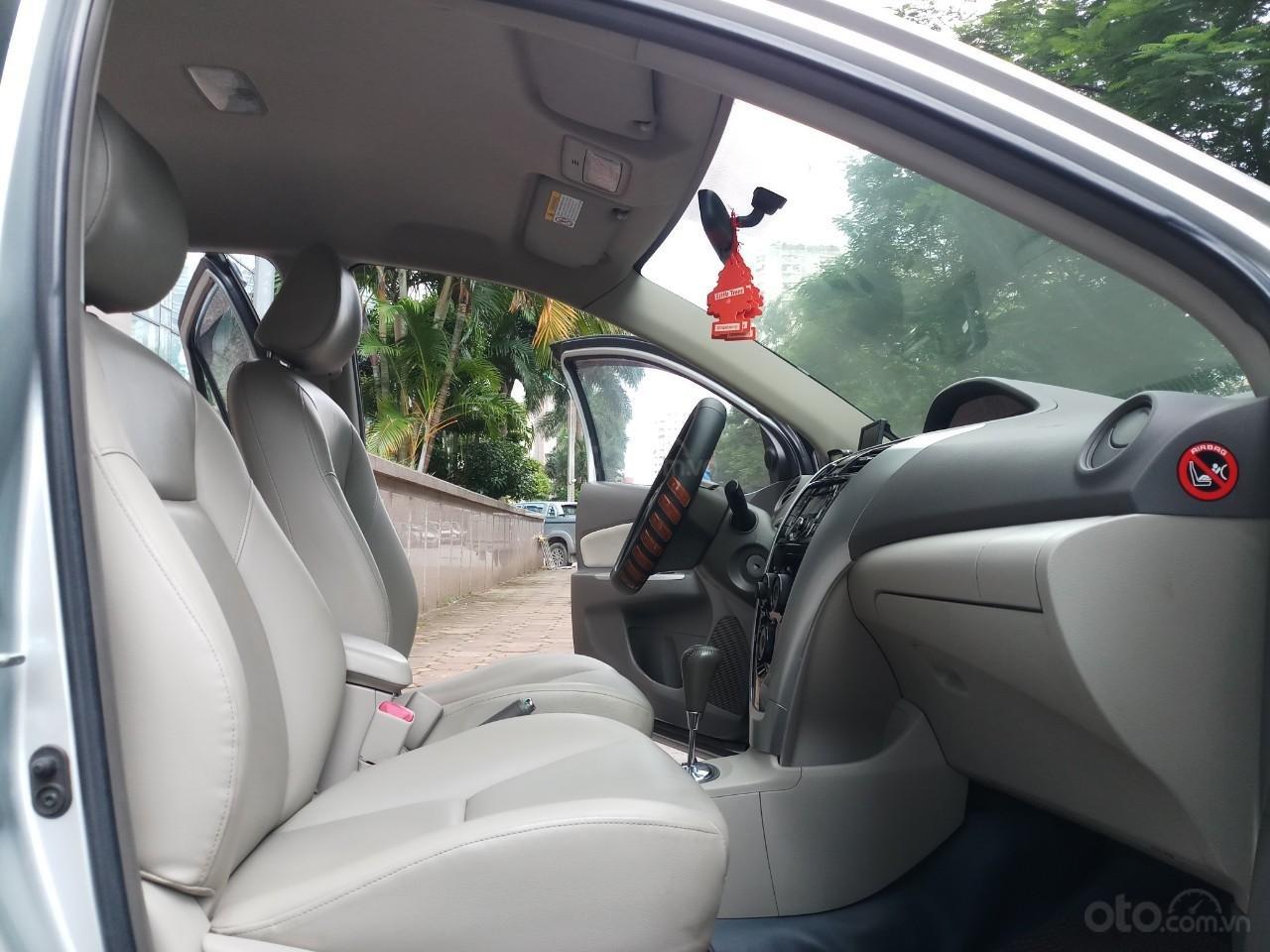Ô tô Thủ Đô bán Toyota Vios 1.5G AT SX 2011, màu bạc 359 triệu (7)