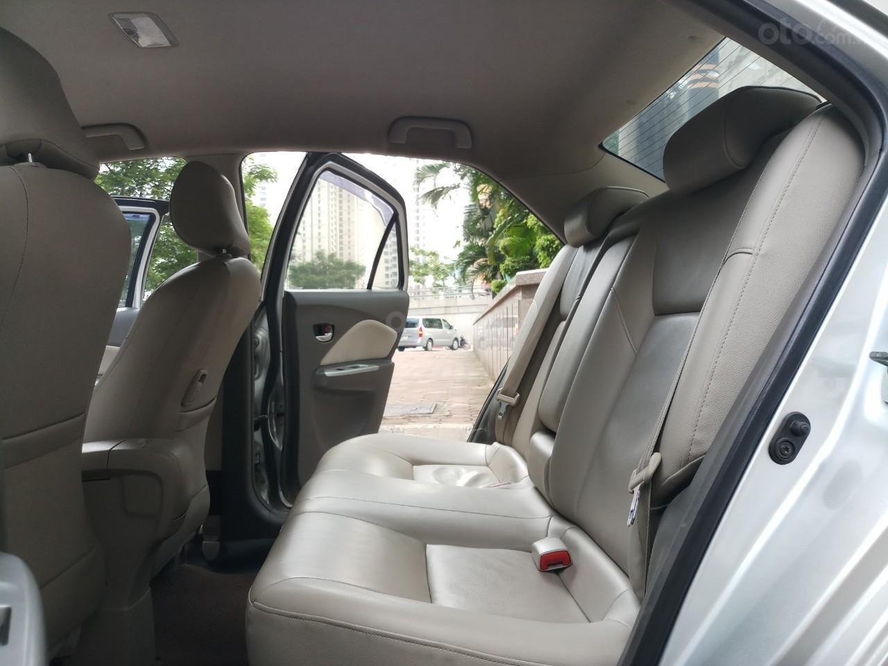 Ô tô Thủ Đô bán Toyota Vios 1.5G AT SX 2011, màu bạc 359 triệu (10)