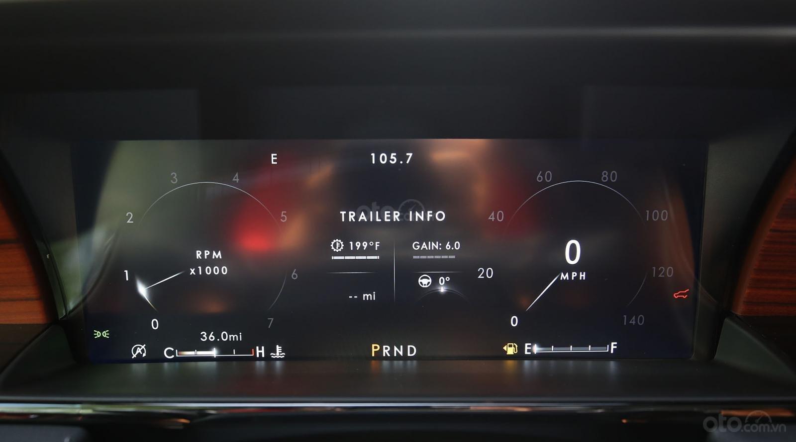 Bán Lincoln Navigator L Black Label năm 2019, màu đen, nội thất nâu da bò, mới 100% (17)