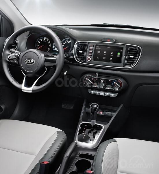 Sedan Kia Soluto 2019, tặng bảo hiểm + giảm tiền mặt + tặng bộ phụ kiện, đặt xe vui lòng LH: 090.68.15.358 (5)