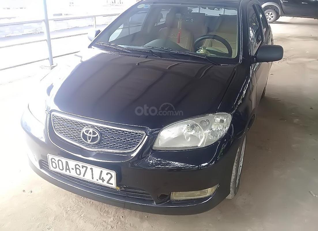 Cần bán gấp Toyota Vios 1.5MT 2005, màu đen chính chủ giá cạnh tranh (3)