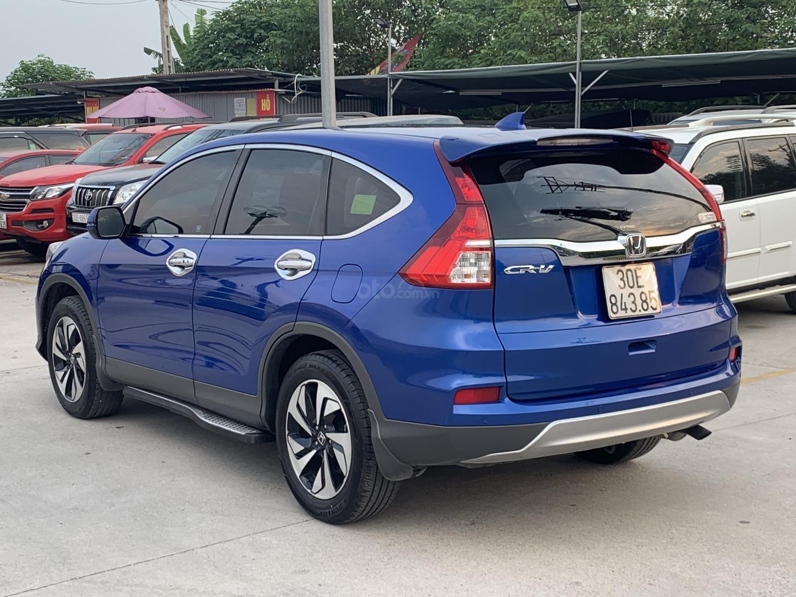 Bán Honda CR V 2.4 2015, màu xanh lam (2)