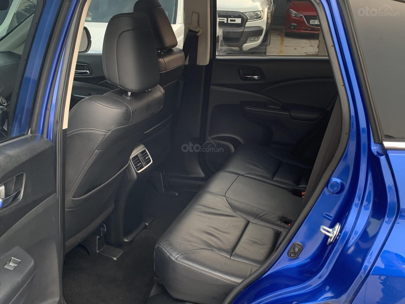 Bán Honda CR V 2.4 2015, màu xanh lam (4)
