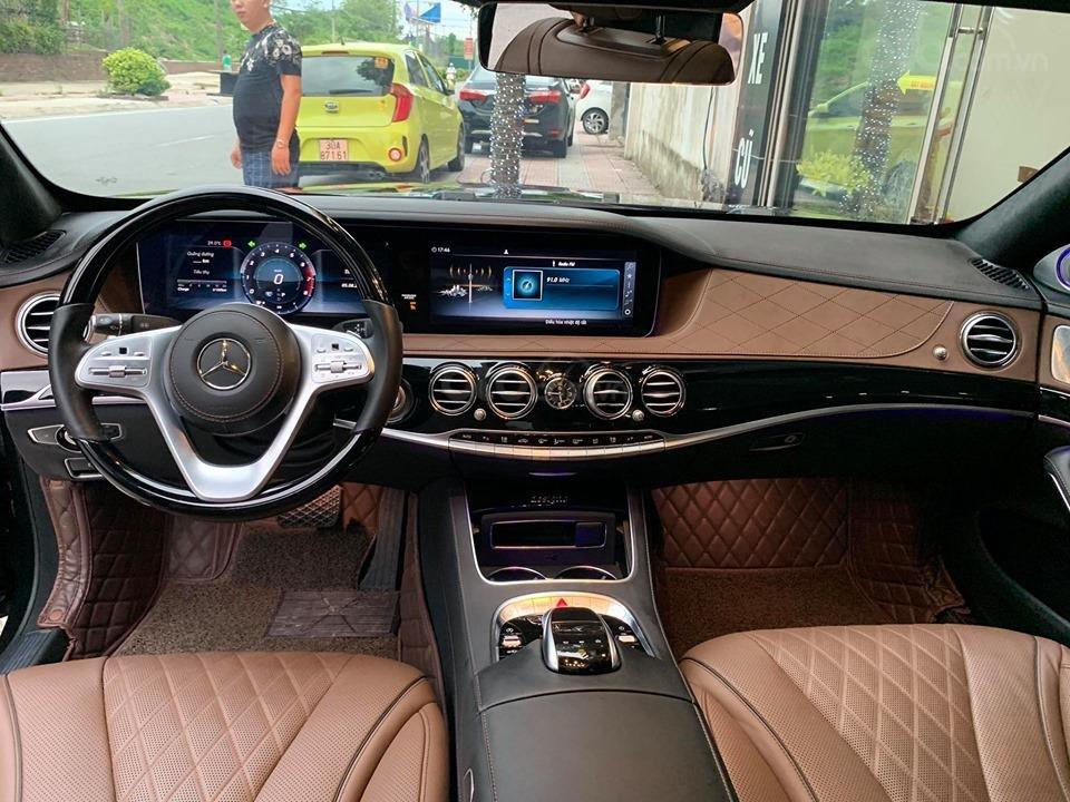Mercedes S450 Luxury sản xuất 2018 màu đen đăng ký 2019 tên tư nhân (3)