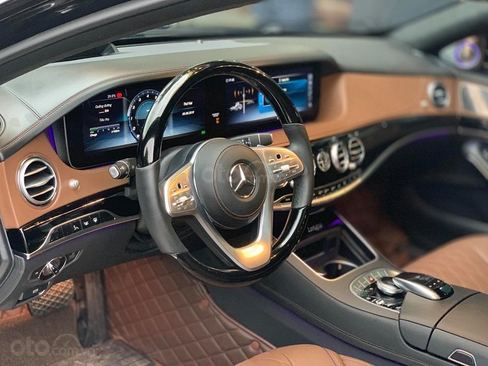 Mercedes S450 Luxury sản xuất 2018 màu đen đăng ký 2019 tên tư nhân (4)
