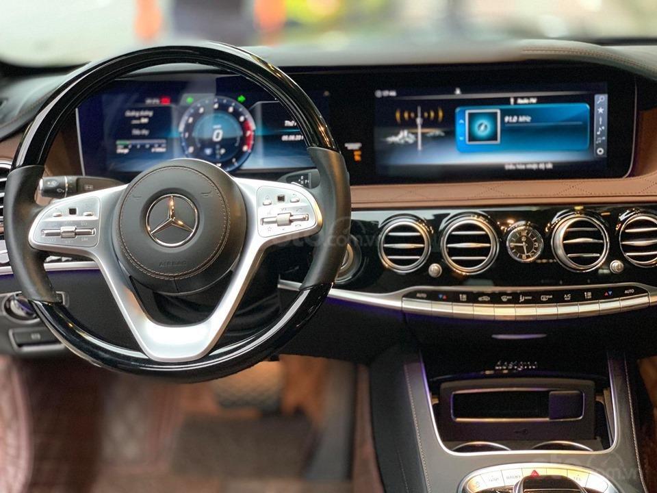 Mercedes S450 Luxury sản xuất 2018 màu đen đăng ký 2019 tên tư nhân (8)