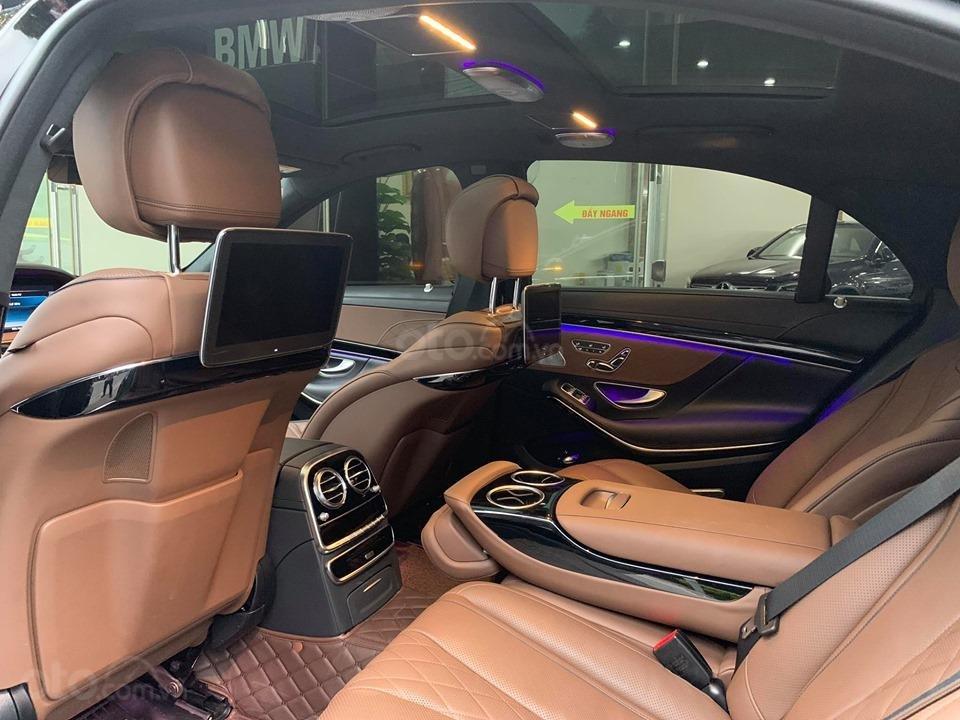 Mercedes S450 Luxury sản xuất 2018 màu đen đăng ký 2019 tên tư nhân (5)