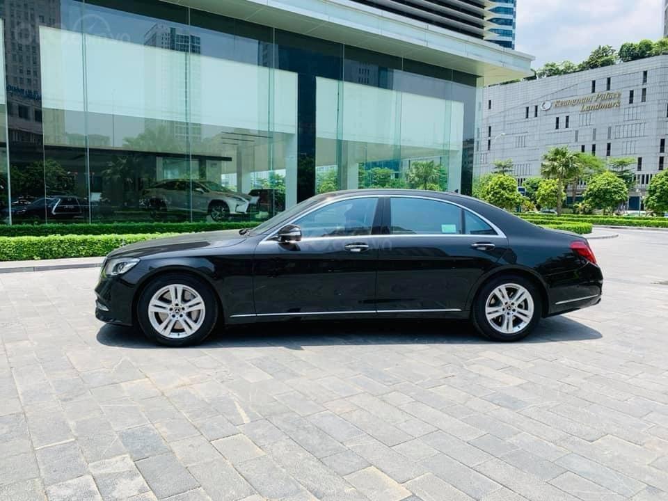 Mercedes S450 Luxury sản xuất 2018 màu đen đăng ký 2019 tên tư nhân (11)