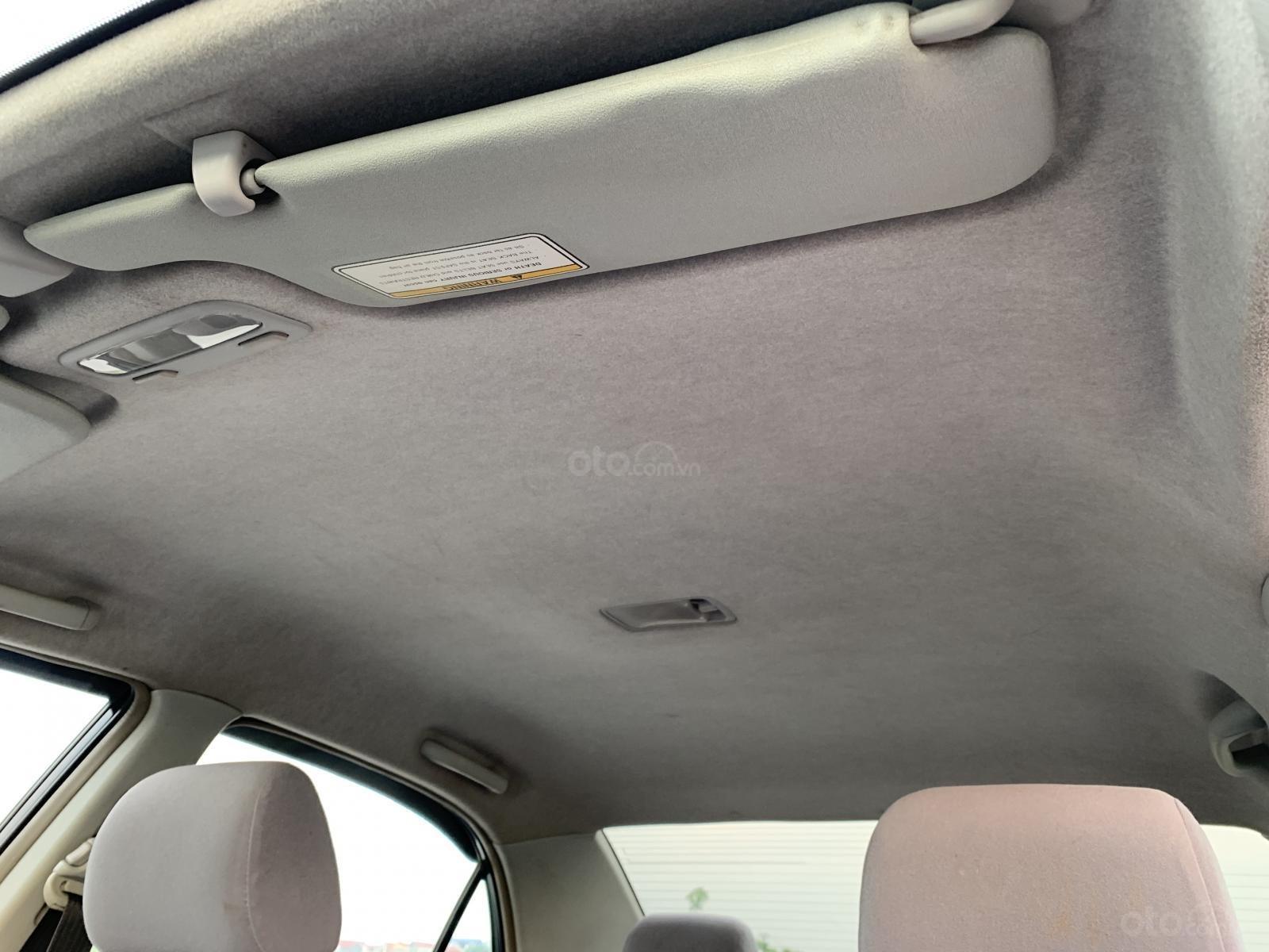 Bán xe Toyota Corolla Altis 1.8G MT đời 2002, màu đen (10)