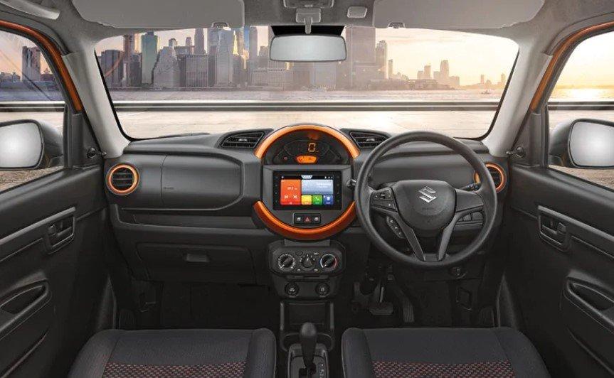 Nội thất xe giá rẻ Suzuki S-Presso mới