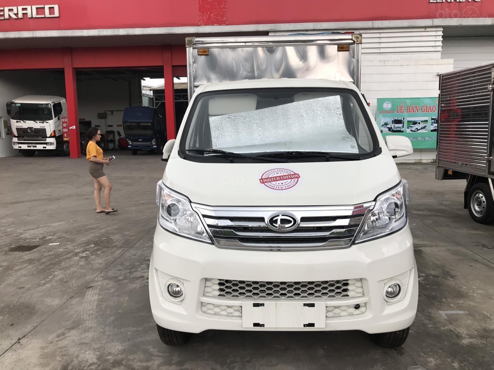Xe tải nhỏ 1 tấn giá rẻ tại Bình Dương - màu trắng sx 2019 - Khuyến mãi 5 triệu trong tháng 9 (2)