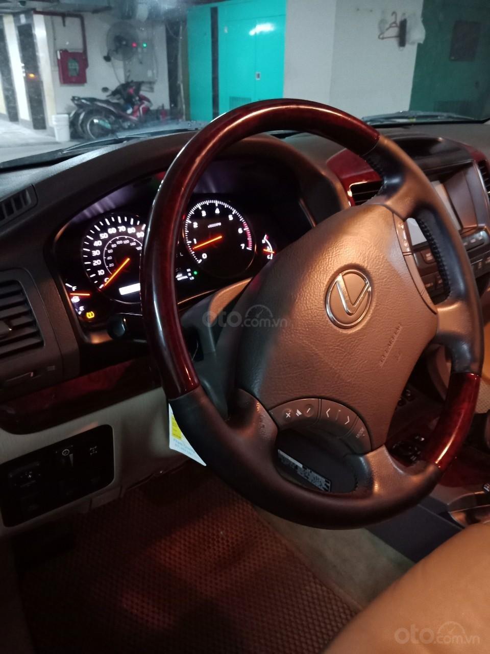 Cần bán Lexus GX 470 đời 2007, màu vàng cát, nhập Mỹ (7)