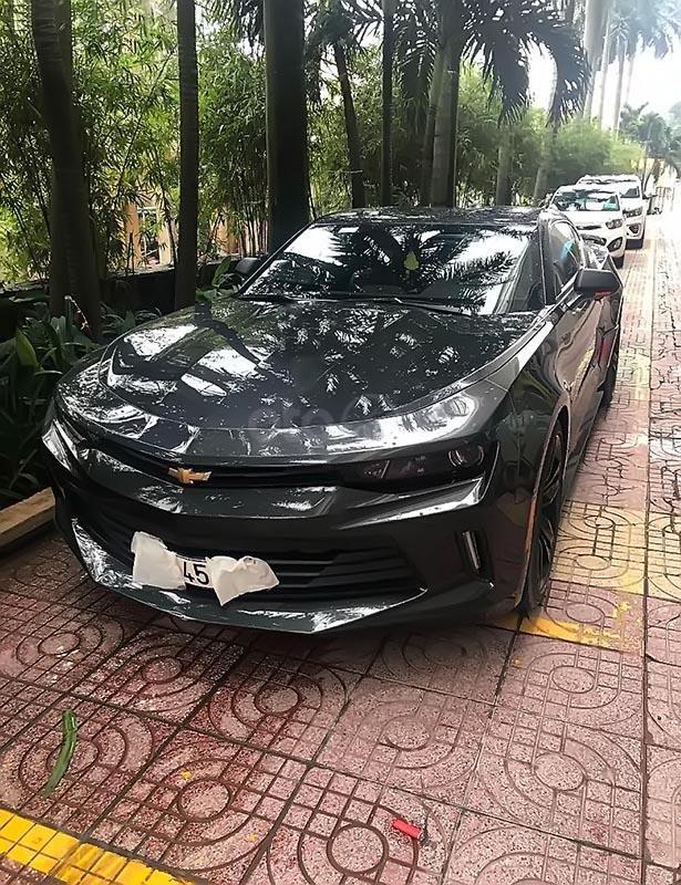 Cần bán gấp Chevrolet Camaro năm 2016, màu xám, xe nhập (1)