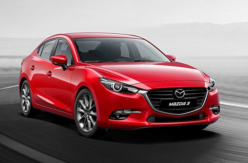 Ngoại thất Mazda 3 2019.