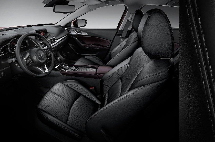 Nội thất Mazda 3 2019 đẹp và nhiều tiện nghi hiện đại .