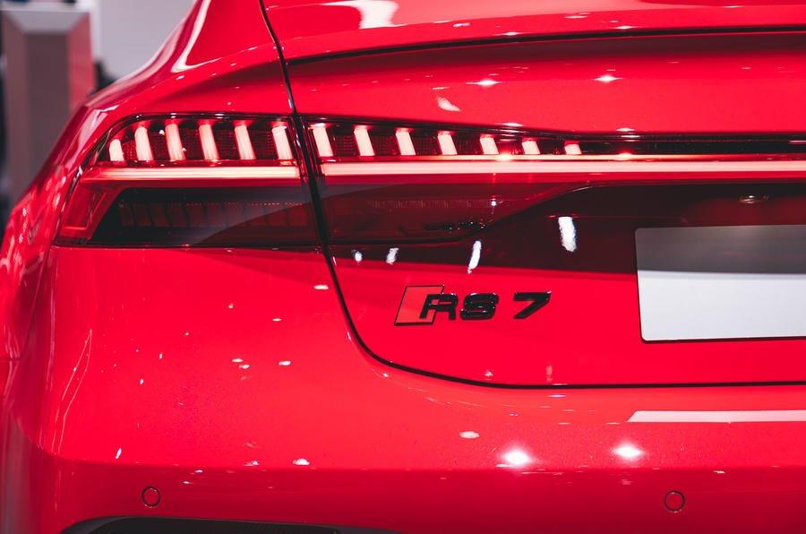 Đèn đuôi xe Audi RS7 2020