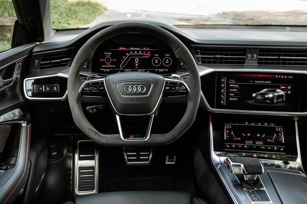 Audi RS7 2020 vô lăng