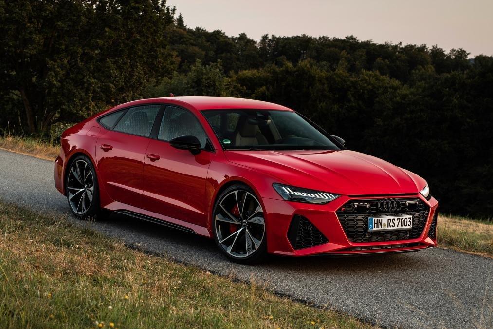 Đánh giá xe Audi RS7 2020 về trang bị an toàn.