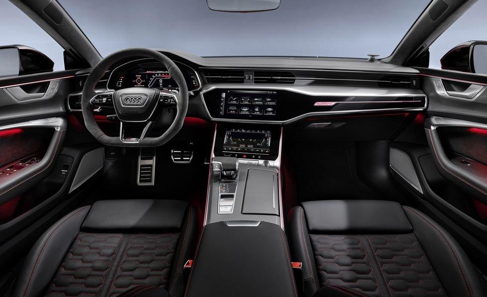 Đánh giá xe Audi RS7 2020 về trang bị tiện nghi