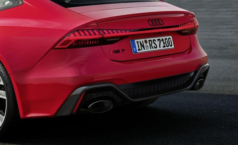 Ỗng xả xe Audi RS7 2020