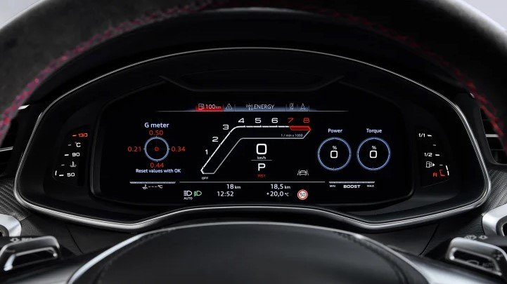 Audi RS7 2020 - đồng hồ lái