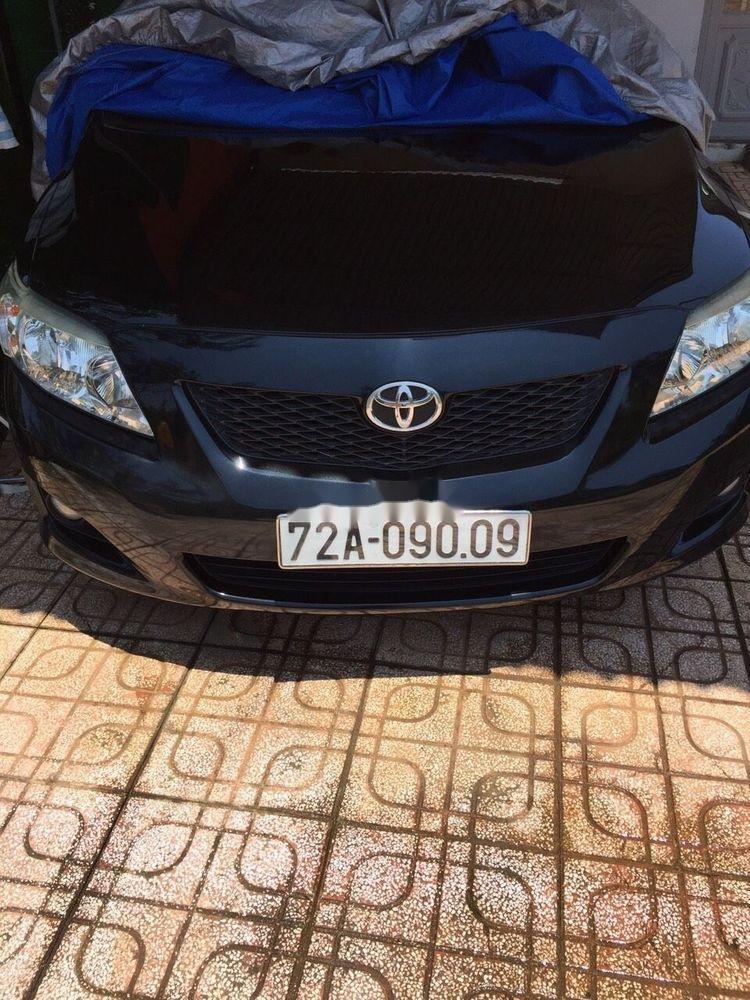 Bán xe Toyota Corolla Altis đời 2009, màu đen (1)