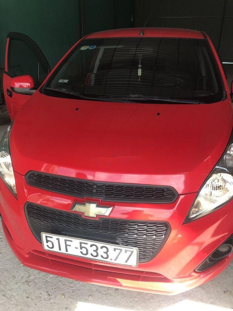 Bán Chevrolet Spark sản xuất 2015, màu đỏ còn mới (1)