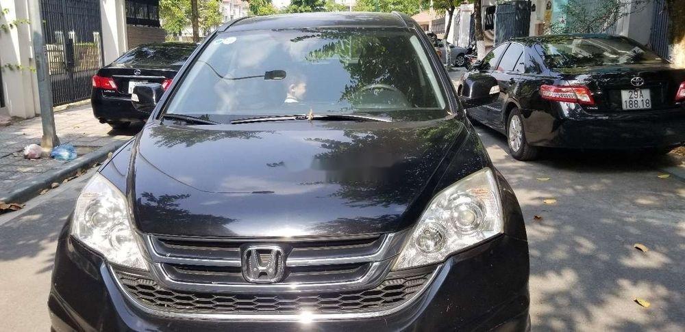 Bán xe cũ Honda CR V 2011, màu đen (1)