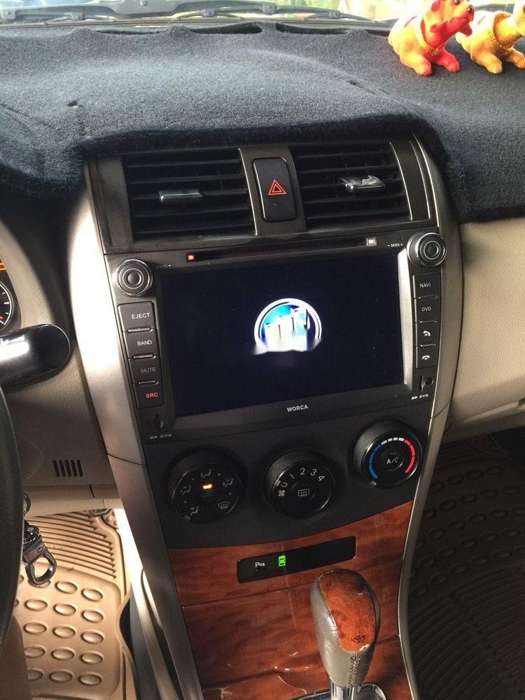 Bán xe Toyota Corolla Altis đời 2009, màu đen (5)