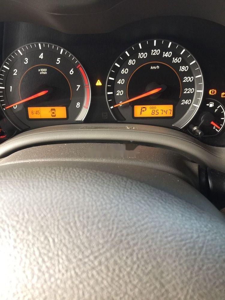 Bán xe Toyota Corolla Altis đời 2009, màu đen (3)