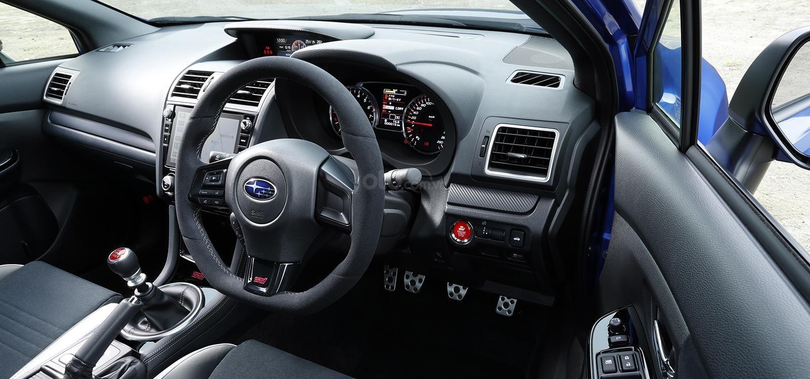 Subaru WRX STI EJ20 Final Edition trang bị tân tiến