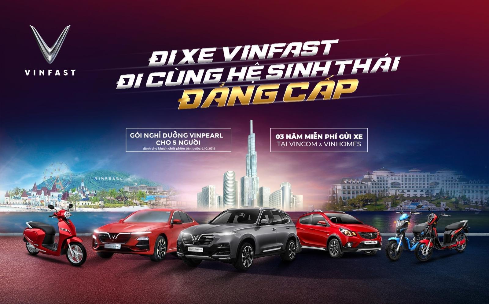 VinFast tri ân đặc biệt cho khách hàng đã và sắp mua xe Lux và Fadil a1