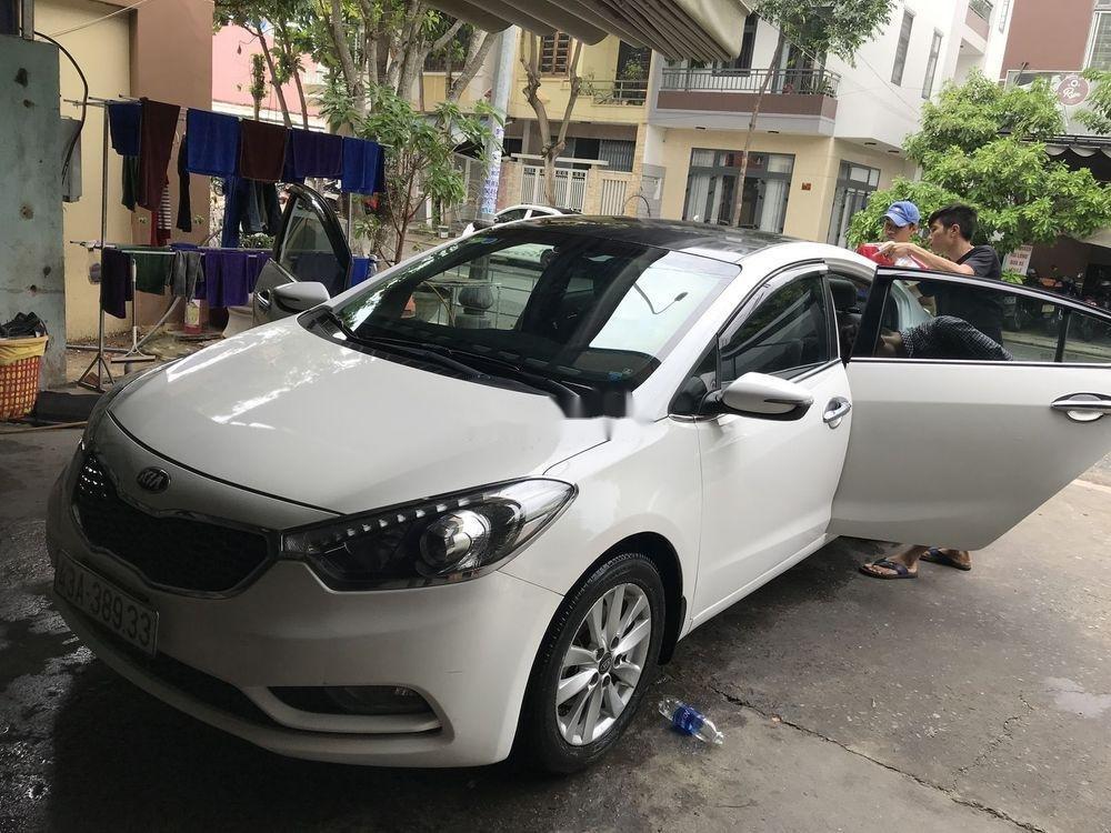 Bán xe Kia K3 sản xuất 2015, màu trắng, nhập khẩu (3)
