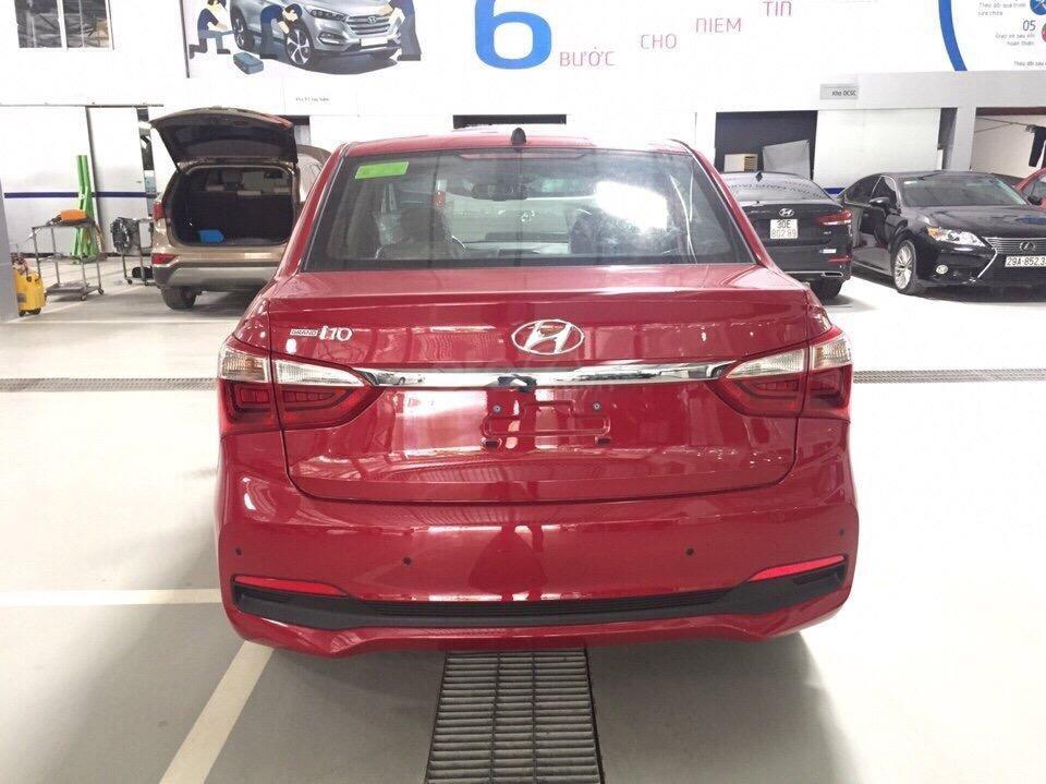 Bán Hyundai Grand i10 Sedan AT đời 2019 xe mới, màu đỏ, giá chỉ 398 triệu (3)