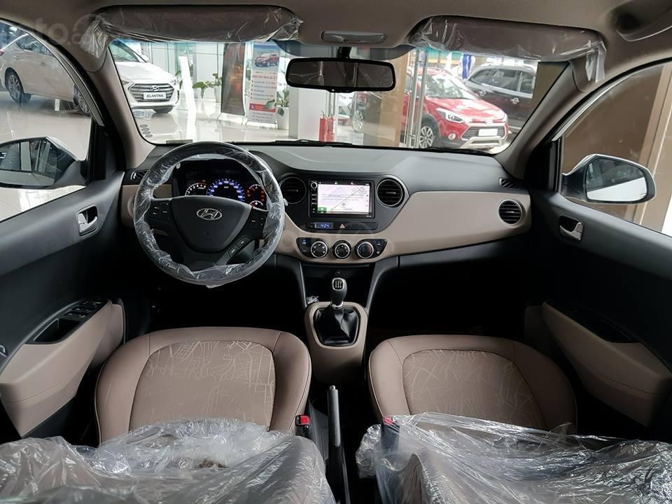 Bán xe Hyundai Grand i10 Sedan MT sản xuất 2019, màu đỏ, xe sẵn giao ngay (4)