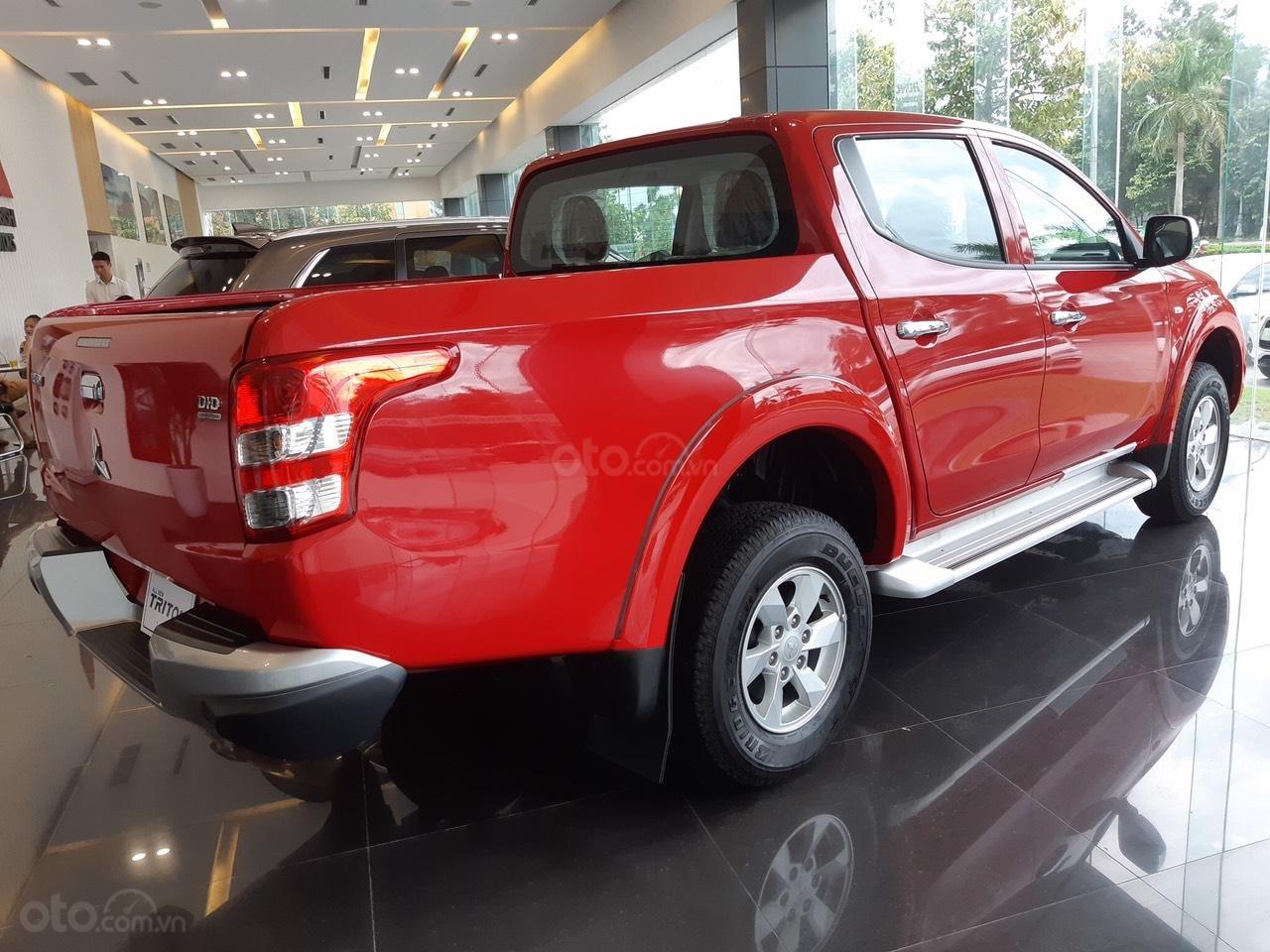 Cần bán Mitsubishi Triton 4x2 MT đời 2019, màu đỏ, nhập khẩu (5)