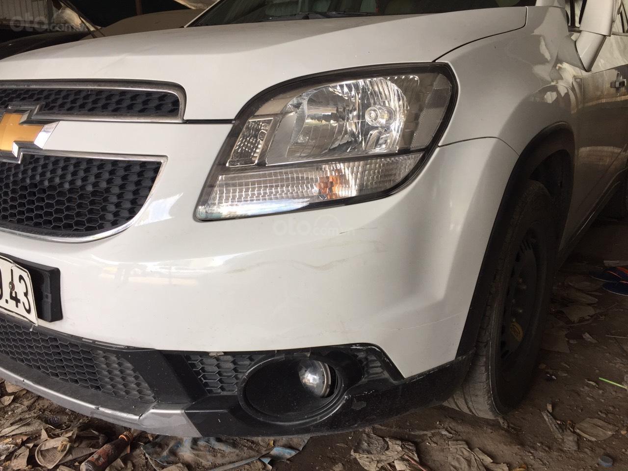 Cần bán xe Chevrolet Orlando năm sản xuất 2017, màu trắng, giá 410tr (2)
