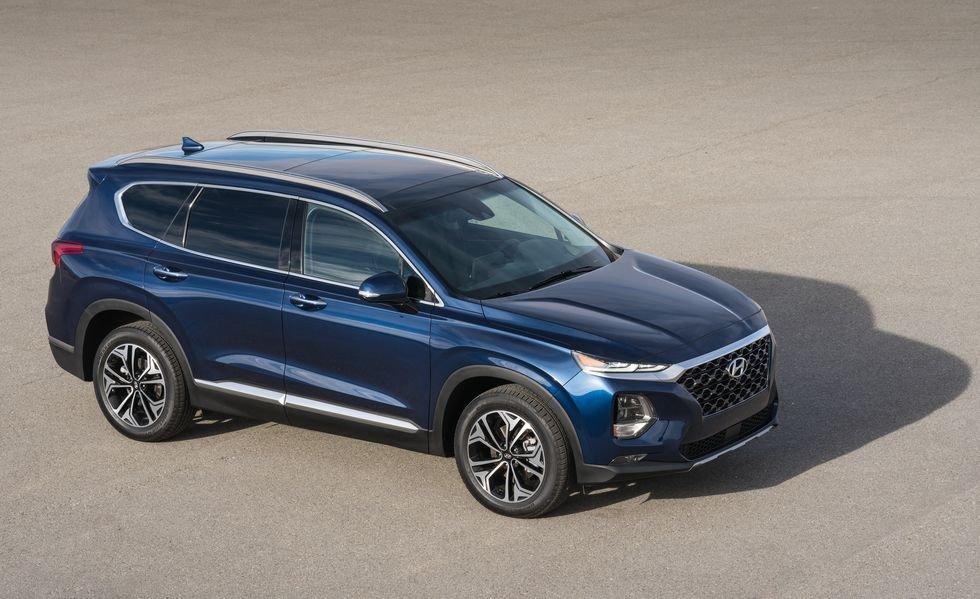 2. Hyundai Santa Fe SE 2020.
