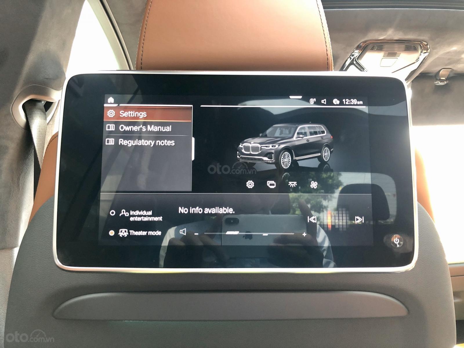 Bán BMW X7 xDrive40i sản xuất 2019, nhập khẩu Mỹ, bản full option 6 ghế, LH em Huân 0981.0101.61 (19)