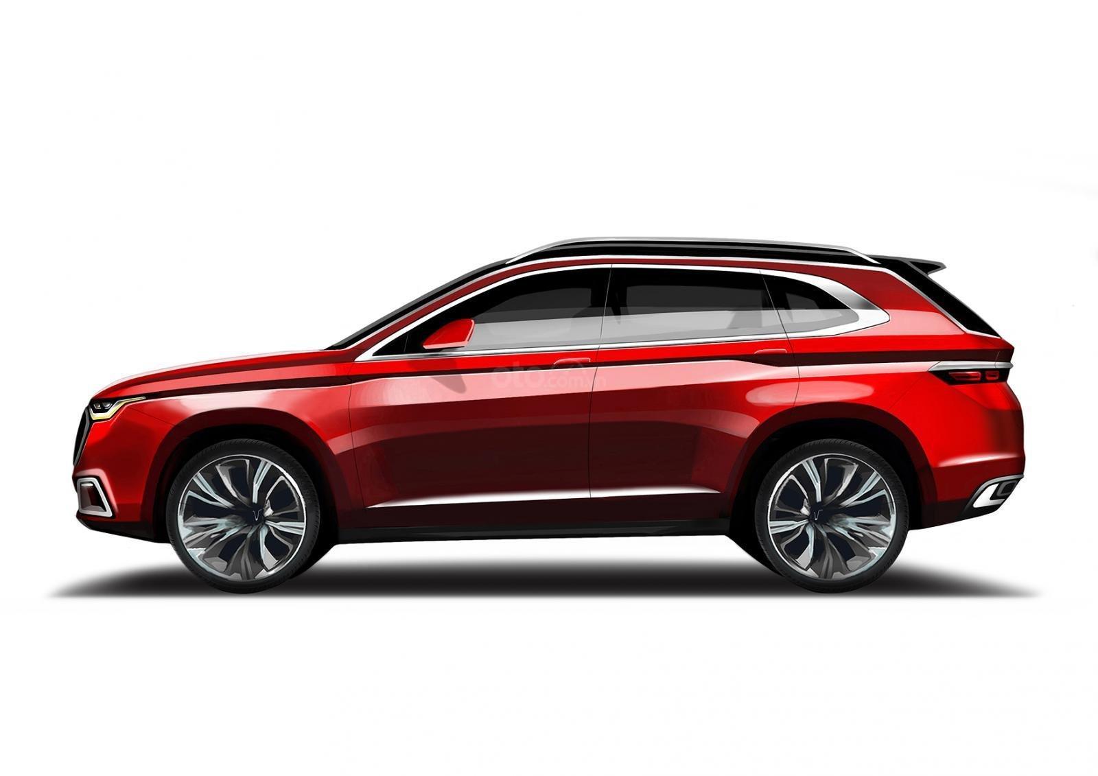 Cần bán xe VinFast LUX SA2.0 bản tiêu chuẩn màu đỏ (1)