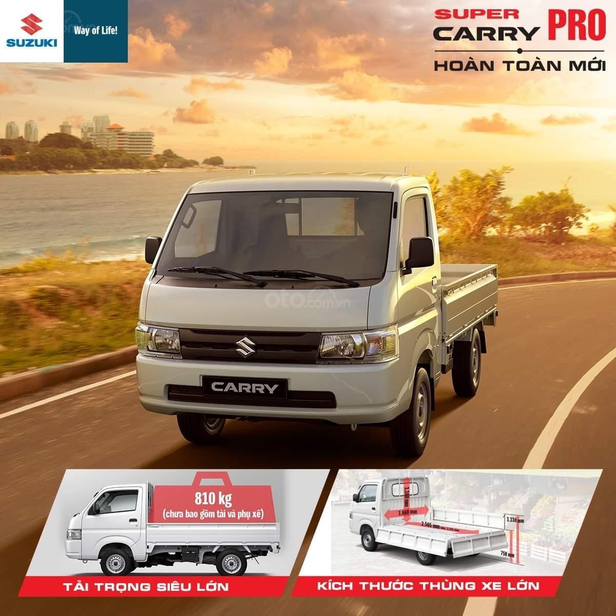 Suzuki Pro phiên bản mới giá ưu đãi và nhiều quà tặng hấp dẫn (1)