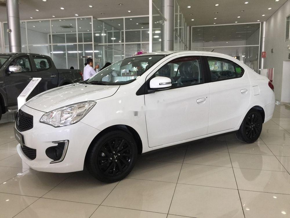 Bán Mitsubishi Attrage đời 2019, màu trắng, xe nhập (1)