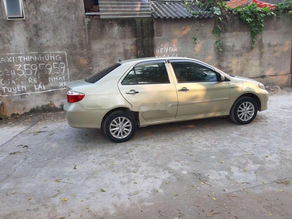 Bán ô tô Toyota Vios năm 2005, màu vàng cát, 148 triệu (11)