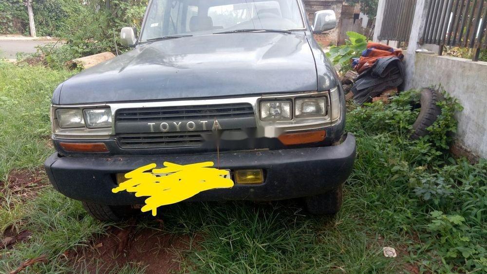 Bán Toyota Land Cruiser 1987, màu xám, nhập khẩu  (1)